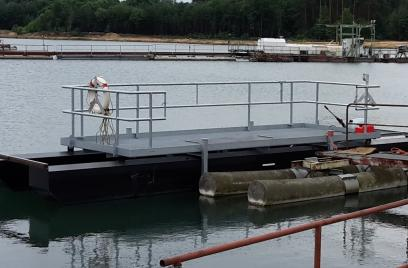 Erste Transporteinheiten für Saugbaggerpumpen-Teile fertiggestellt