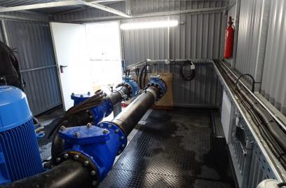 Neue Frischwasserpumpstation in Diersheim nimmt Betrieb auf