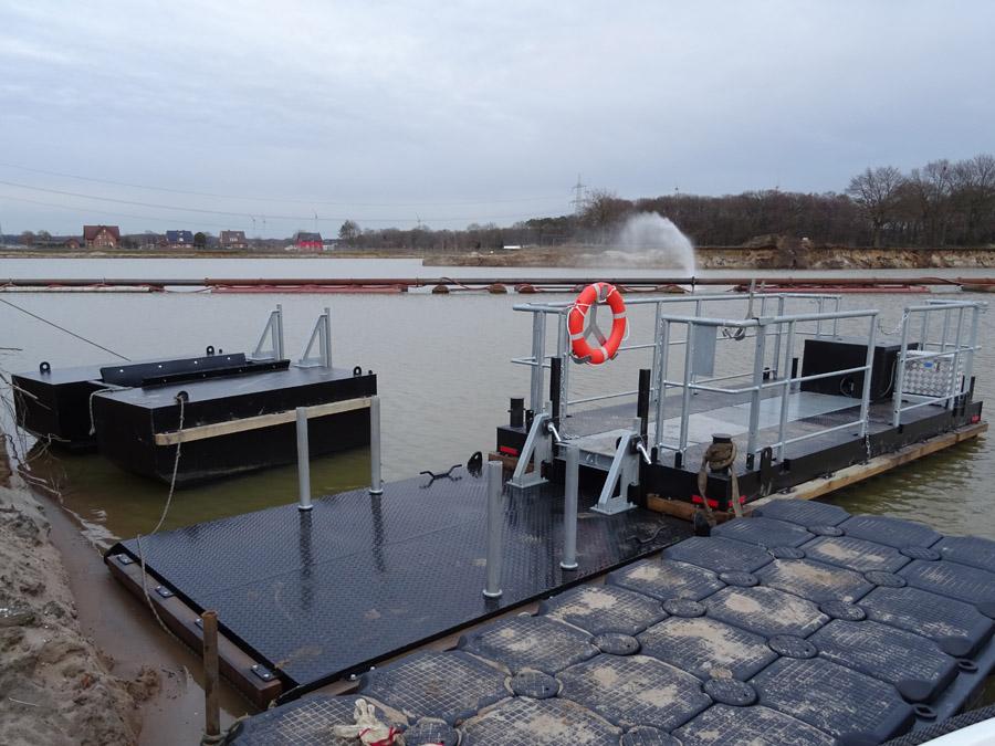 Arbeitsboote + Pontons für spezielle Anwendungen